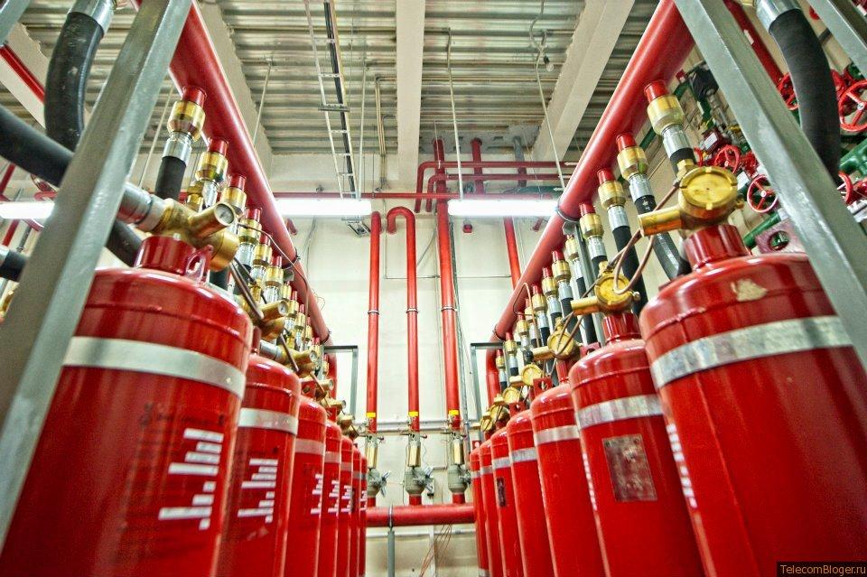 газ, хладон, novec, пожаротушение