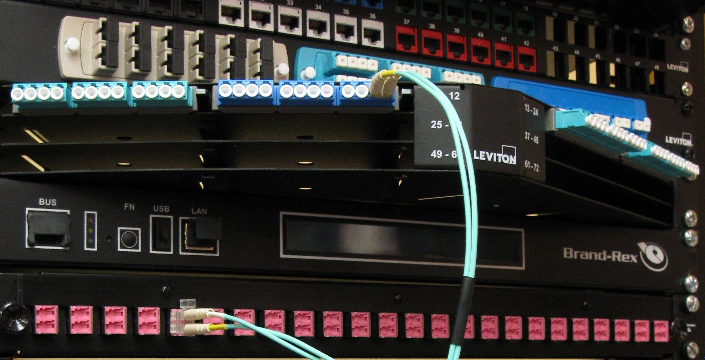 Leviton/Brand-Rex, CommScope, Panduit, Reichle & DeMassari, 3M, AMP Netconnect,Systimax, Legrand