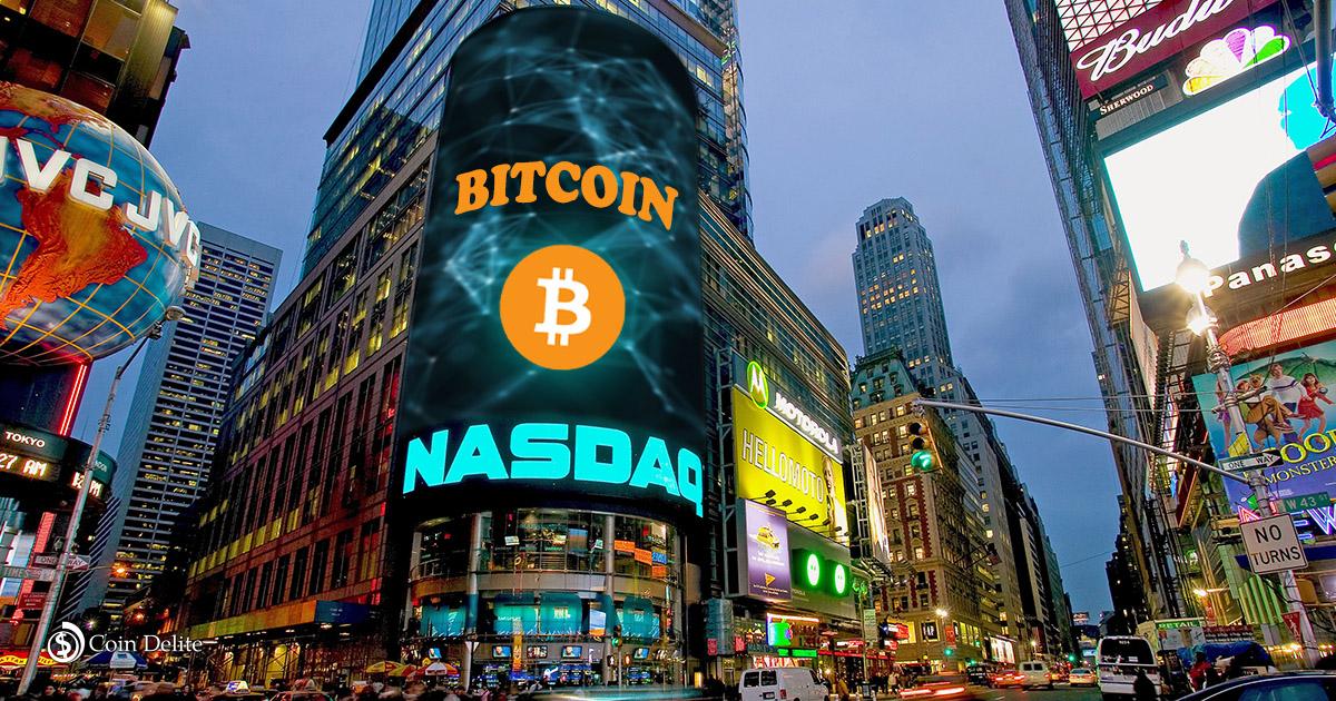 Nasdaq,bitcoin, blockchain