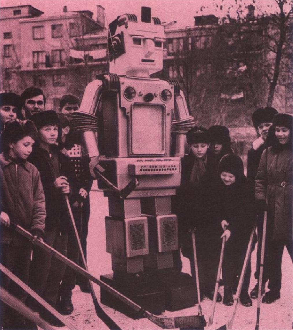 робот мацкевича, первый робот ссср